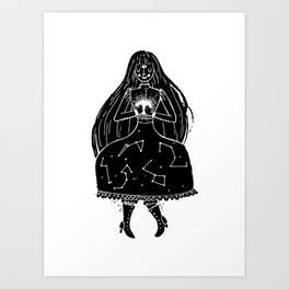The Clairvoyant Art Print