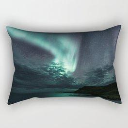 Aurora Borealis XXI Rectangular Pillow