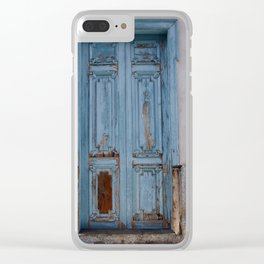 GOMERA DOORS Clear iPhone Case