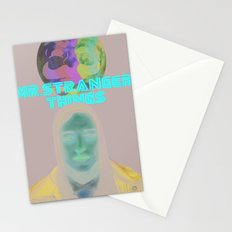 Mr.Stranger Things Stationery Cards