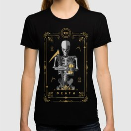 Death XIII Tarot Card T-shirt