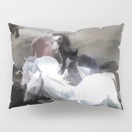 Breaking Free  -  Wild Horses Pillow Sham