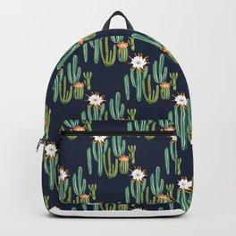 Dark Cactus Desert Backpack
