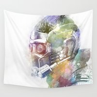 star lord Wall Tapestries featuring Star-Lord by NKlein Design