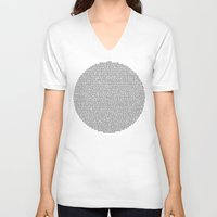 pi V-neck T-shirts featuring Pi by SinC @ Convenisheep7