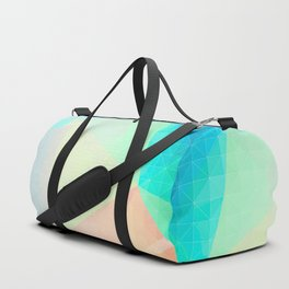Pastel Candy Geometry Duffle Bag
