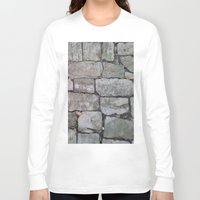medieval Long Sleeve T-shirts featuring MEDIEVAL FLOOR by Melania Emma