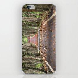 wood le chemin iPhone Skin
