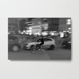 Bike Ride Metal Print