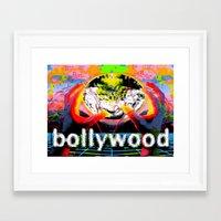 cyberpunk Framed Art Prints featuring Bollywood Cyberpunk by BOLLYWOOD
