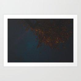Oro Oscuro Art Print