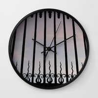 bar Wall Clocks featuring Bar by Goolpia