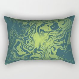 oil spill Rectangular Pillow