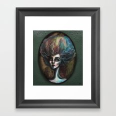 Drama of The Dark and Wicked Framed Art Print