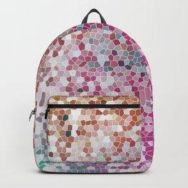Orange Magenta Beautiful Pink Fantasy Colorful Pattern Backpack