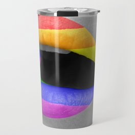 Rainbow Lipstick Travel Mug