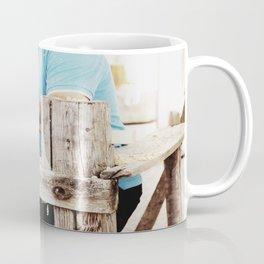 The artisan and the lathe Coffee Mug