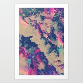 Celestial Facets Art Print
