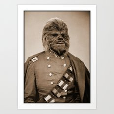 Portrait of Sir Chewie Art Print