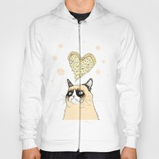 Grumpy Pizza Love Hoody