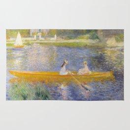 The Skiff (La Yole) by Pierre-Auguste Renoir Rug