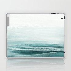 hazy emerald sea Laptop & iPad Skin