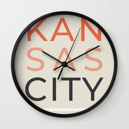 KC BBY Wall Clock