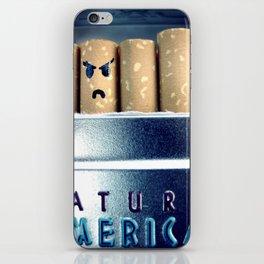 Evil Cigarette iPhone Skin