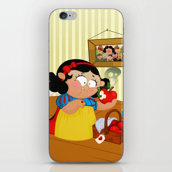 Snow White (apple) iPhone & iPod Skin