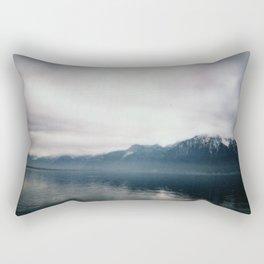 Brume sur Montreux Rectangular Pillow