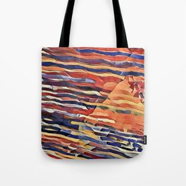 Parallel to the Wind Tote Bag