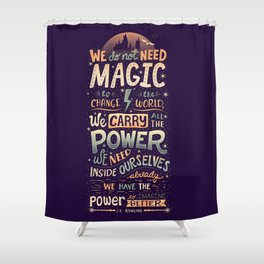 Imagine Better Shower Curtain