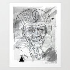 Faraon Art Print