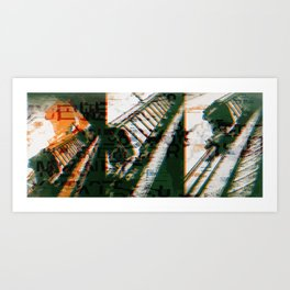 look 03 29 Art Print