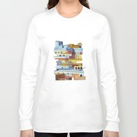 team fortress Long Sleeve T-shirts featuring the fortress by Chicca Besso