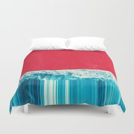 Red Tide Duvet Cover