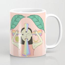 The woman who sees Coffee Mug
