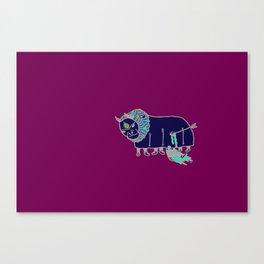 la fuckin' patria Canvas Print