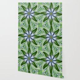 Cornflower Posie Wallpaper