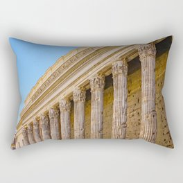 The Pantheon in Rome Italy Rectangular Pillow