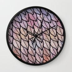 Leaves / Nr. 1 Wall Clock