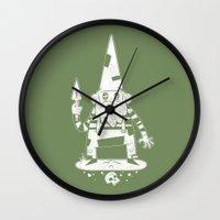gnome Wall Clocks featuring Gnome by Matt Sinor