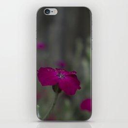Deep Pink Flower iPhone Skin