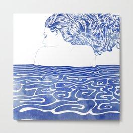 Water Nymph LXII Metal Print