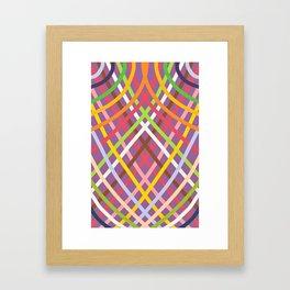 Geometrical- CROSS Framed Art Print