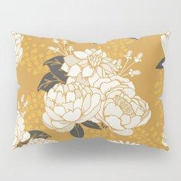 Glam Florals - Gold Pillow Sham