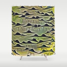GUESS WHO'S COMING TO DINNER Shower Curtain