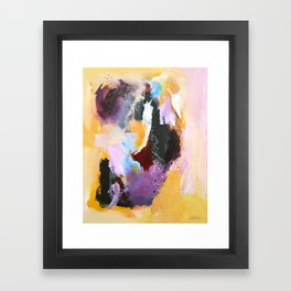 She Is Enough Framed Art Print