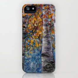 Aspen Trees by OLena Art iPhone Case