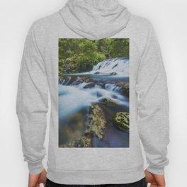 High motion waterfall Hoody